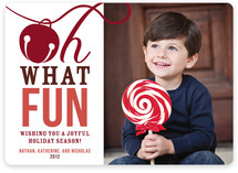 Oh What Fun! Holiday Photo Cards