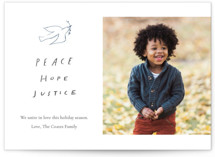 Peace Hope Justice by June Letters Studio