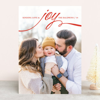 decadent Holiday Photo Cards