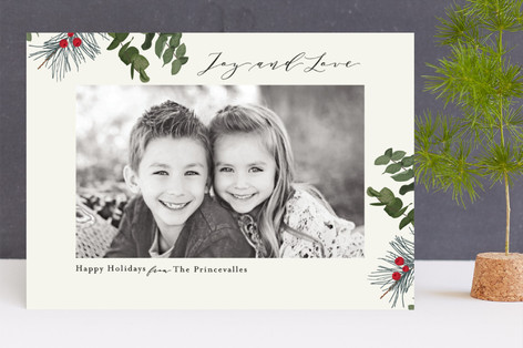 Forest Magic Holiday Photo Cards