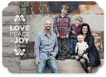 Love, Peace & Joy Holiday Photo Cards