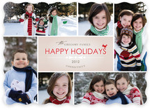 Bowtie Holiday Photo Cards