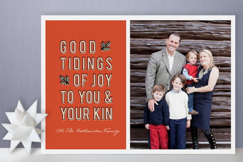 Good Tidings Holiday Photo Cards