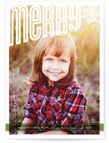 Merry Bright Cheer Holiday Photo Cards