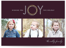 Holiday Joy Holiday Photo Cards