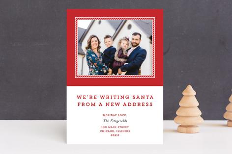 Please Tell Santa Holiday Photo Cards