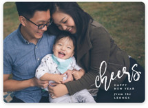Joy Script Holiday Photo Cards