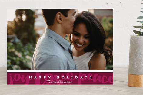 Happy Holiday Wishes Holiday Photo Cards