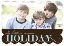 Holiday Dot Holiday Photo Cards