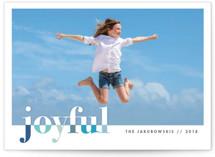 bountiful joy Holiday Photo Cards
