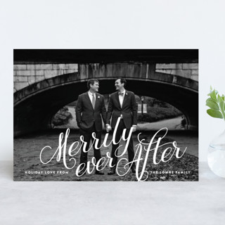Winter Love Holiday Photo Cards