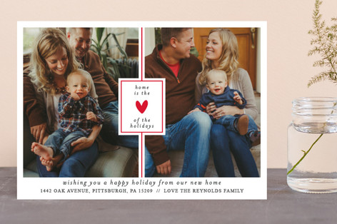the heart of the holidays Holiday Photo Cards