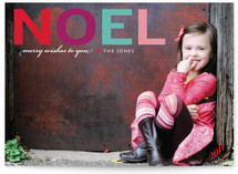 Noel Holiday Photo Cards