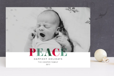 Holiday Hues Holiday Photo Cards