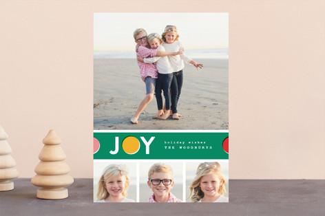 Joy Dot Holiday Photo Cards