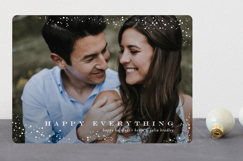 Snow Lightly Holiday Photo Cards