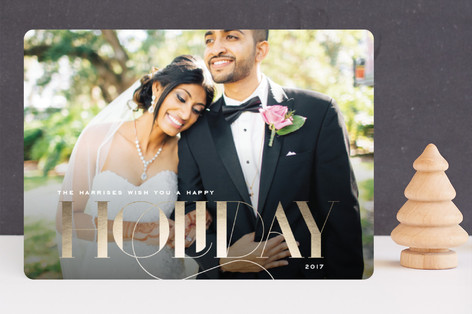 Classic Charm Holiday Photo Cards