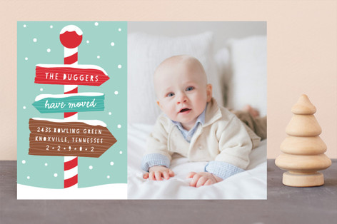 New Home For The Holidays Holiday Photo Cards
