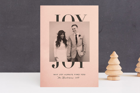 Classic Joy Holiday Photo Cards