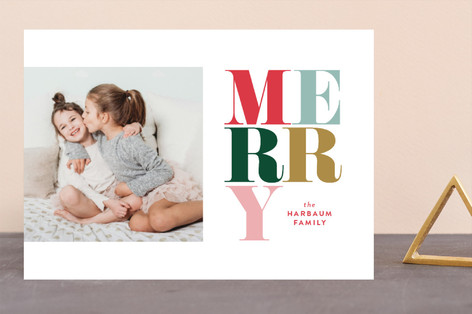 Pirouette Holiday Photo Cards