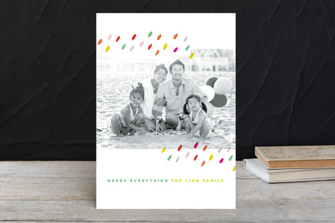 Dashing Dots Holiday Photo Cards