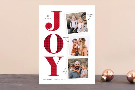 Biggest Joy Holiday Photo Cards