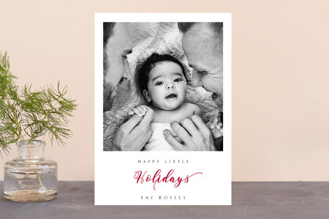 Merry Little Holiday Photo Cards