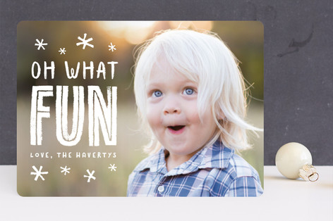festive + fun Holiday Photo Cards