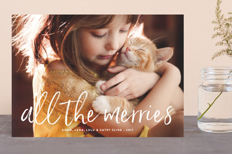 All the Merries Holiday Photo Cards