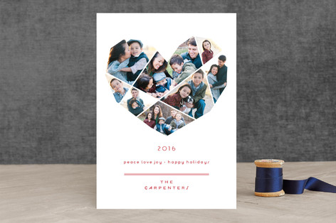 Complete Love Holiday Photo Cards