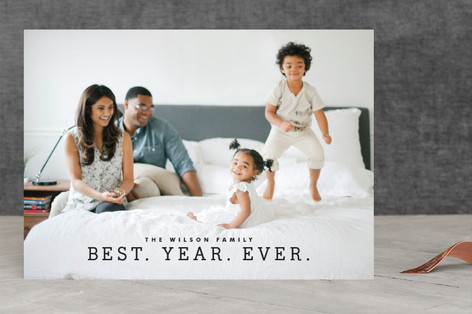 best year ever holiday photo cards - Best Holiday Cards
