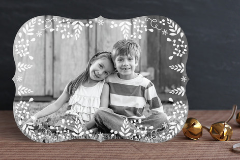 Seasonal Sprinkle Holiday Photo Cards