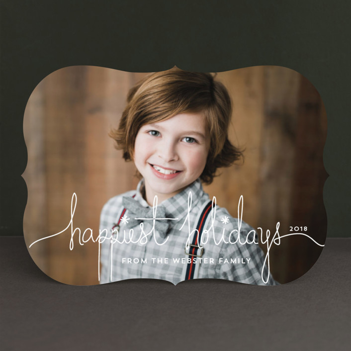 Holiday Revelry Holiday Photo Cards