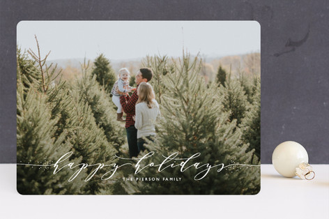 a touch of elegance Holiday Photo Cards