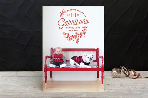 Embellished Holiday Photo Cards