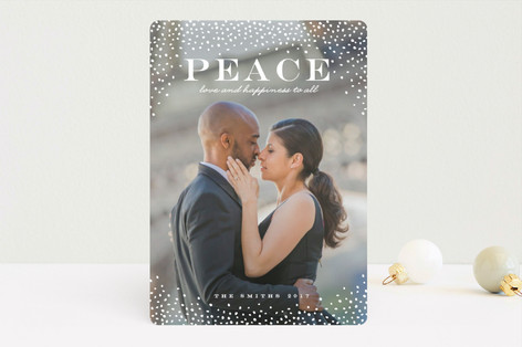 Beautiful Storm Holiday Photo Cards