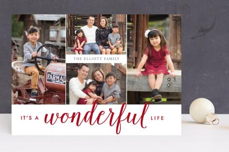 Oh So Wonderful Holiday Photo Cards