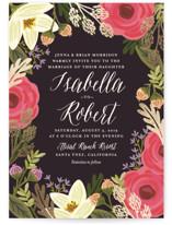 Rhapsody Foil-Pressed Wedding Invitation Petite Cards