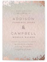 Mood Foil-Pressed Wedding Invitation Petite Cards