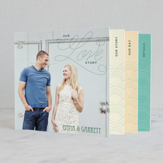 Love Nouveau Wedding Invitation Minibook™ Cards