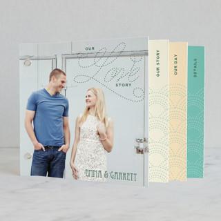 Love Nouveau Wedding Invitation Minibook™ Cards