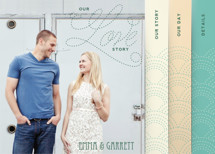 Love Nouveau Wedding Invitation Minibook&amp;trade; Cards