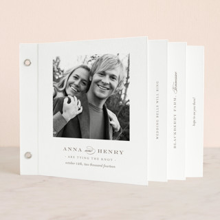 Field Wedding Invitation Minibook™ Cards