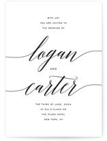 Someone Like You Wedding Invitation Petite Cards