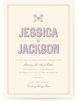 Rustic Keys Wedding Invitations