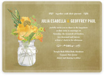 Bouquet D&#039;Amour Wedding Invitations