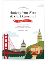 I Heart SF Wedding Invitations