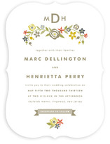 Flourish Nuptial Wedding Invitations