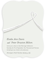 Heart Aflutter Wedding Invitations
