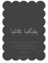 Viva Las Marriage Wedding Invitations